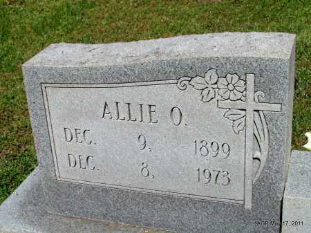 WARD, ALLIE O (CLOSEUP) - Fulton County, Arkansas | ALLIE O (CLOSEUP) WARD - Arkansas Gravestone Photos