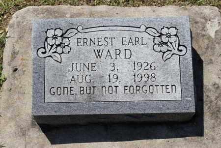 WARD, ERNEST EARL - Fulton County, Arkansas | ERNEST EARL WARD - Arkansas Gravestone Photos