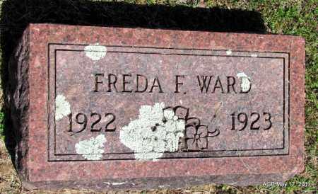 WARD, FREDA F - Fulton County, Arkansas | FREDA F WARD - Arkansas Gravestone Photos