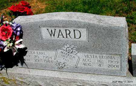 WARD, VESTA LEONIA - Fulton County, Arkansas   VESTA LEONIA WARD - Arkansas Gravestone Photos