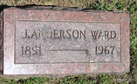 WARD, J ANDERSON - Fulton County, Arkansas | J ANDERSON WARD - Arkansas Gravestone Photos