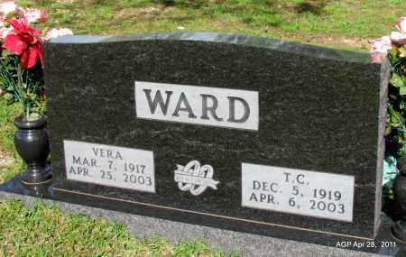 WARD, T C - Fulton County, Arkansas | T C WARD - Arkansas Gravestone Photos