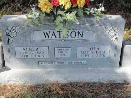 WATSON, ALBERT - Fulton County, Arkansas | ALBERT WATSON - Arkansas Gravestone Photos
