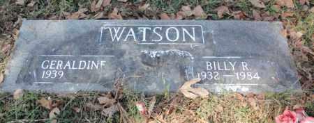 WATSON, BILLY R. - Fulton County, Arkansas | BILLY R. WATSON - Arkansas Gravestone Photos