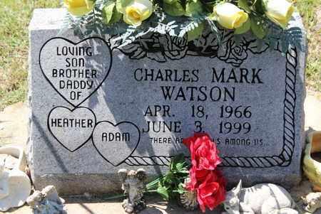 WATSON, CHARLES MARK - Fulton County, Arkansas   CHARLES MARK WATSON - Arkansas Gravestone Photos