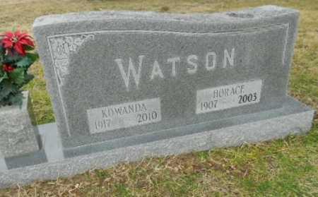 WATSON, HORACE O. - Fulton County, Arkansas | HORACE O. WATSON - Arkansas Gravestone Photos