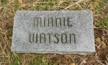 WATSON, MINNIE M. - Fulton County, Arkansas | MINNIE M. WATSON - Arkansas Gravestone Photos
