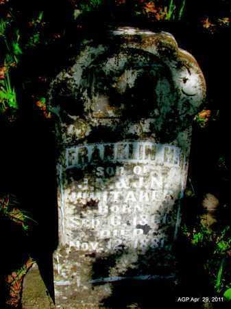 WHITAKER, FRANKLIN H - Fulton County, Arkansas | FRANKLIN H WHITAKER - Arkansas Gravestone Photos