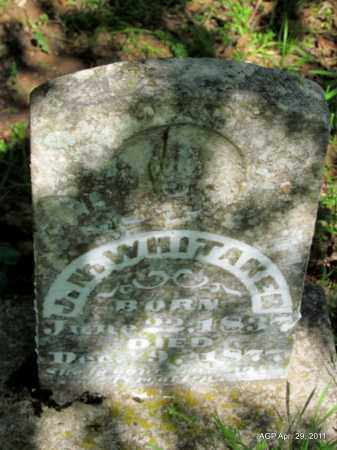 WHITAKER, J N - Fulton County, Arkansas   J N WHITAKER - Arkansas Gravestone Photos
