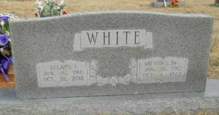 BLACK WHITE, ELLAVIE IONE - Fulton County, Arkansas | ELLAVIE IONE BLACK WHITE - Arkansas Gravestone Photos