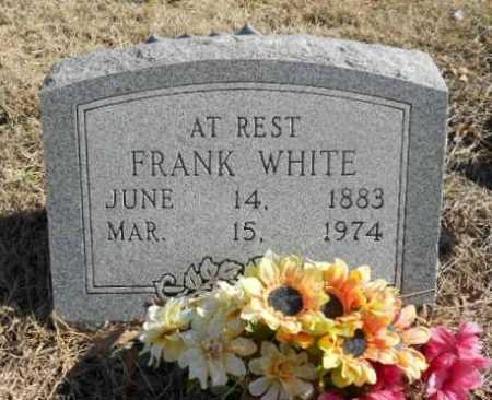 WHITE, FRANK - Fulton County, Arkansas   FRANK WHITE - Arkansas Gravestone Photos