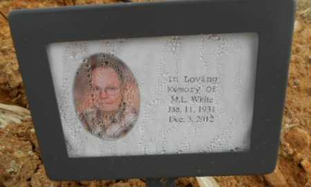 "WHITE, JR (VETERAN KOR), MILTON LESTER ""M L"" - Fulton County, Arkansas   MILTON LESTER ""M L"" WHITE, JR (VETERAN KOR) - Arkansas Gravestone Photos"