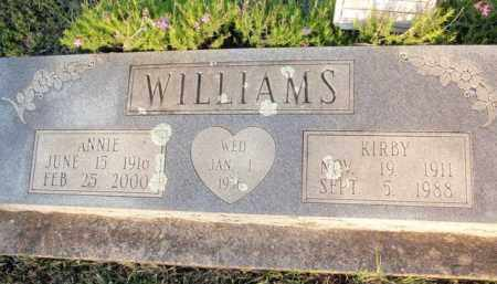 WILLIAMS, KIRBY - Fulton County, Arkansas | KIRBY WILLIAMS - Arkansas Gravestone Photos