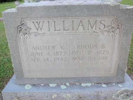 WILLIAMS, ANDREW V - Fulton County, Arkansas | ANDREW V WILLIAMS - Arkansas Gravestone Photos