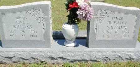 WILLIAMS, THURMAN L - Fulton County, Arkansas | THURMAN L WILLIAMS - Arkansas Gravestone Photos