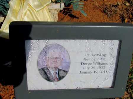 WILLIAMS, DEVOE - Fulton County, Arkansas | DEVOE WILLIAMS - Arkansas Gravestone Photos