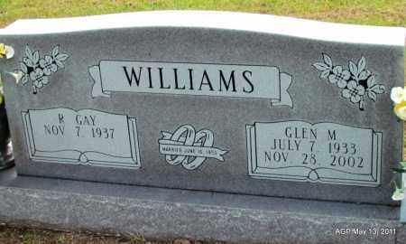WILLIAMS, GLEN M. - Fulton County, Arkansas | GLEN M. WILLIAMS - Arkansas Gravestone Photos