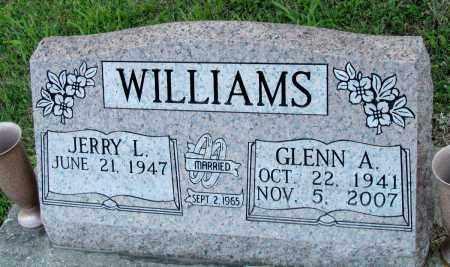 WILLIAMS, GLENN A - Fulton County, Arkansas   GLENN A WILLIAMS - Arkansas Gravestone Photos