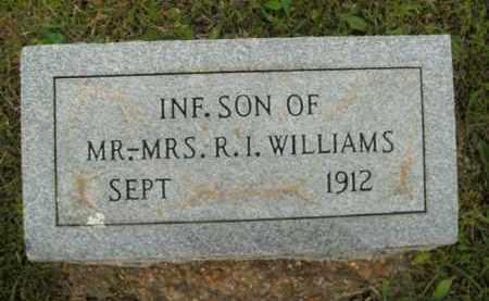 WILLIAMS, INFANT SON - Fulton County, Arkansas   INFANT SON WILLIAMS - Arkansas Gravestone Photos