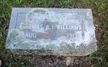 WILLIAMS, INFANT SON - Fulton County, Arkansas | INFANT SON WILLIAMS - Arkansas Gravestone Photos