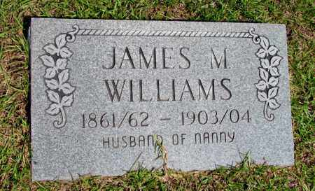 WILLIAMS, JAMES M - Fulton County, Arkansas | JAMES M WILLIAMS - Arkansas Gravestone Photos