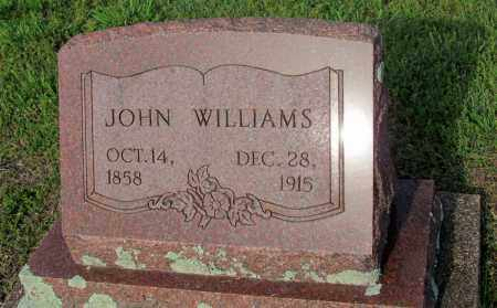 WILLIAMS, JOHN - Fulton County, Arkansas | JOHN WILLIAMS - Arkansas Gravestone Photos