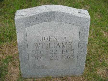 WILLIAMS, JOHN A - Fulton County, Arkansas | JOHN A WILLIAMS - Arkansas Gravestone Photos