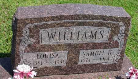 WILLIAMS, SAMUEL H - Fulton County, Arkansas | SAMUEL H WILLIAMS - Arkansas Gravestone Photos