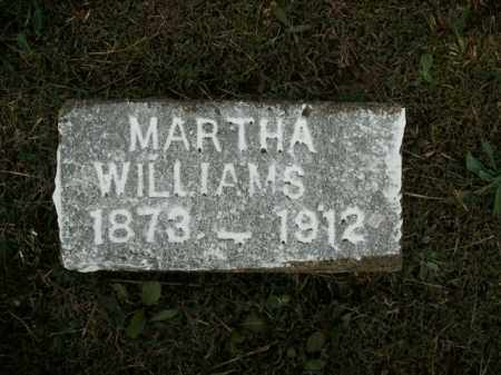 WILLIAMS, MARTHA - Fulton County, Arkansas | MARTHA WILLIAMS - Arkansas Gravestone Photos