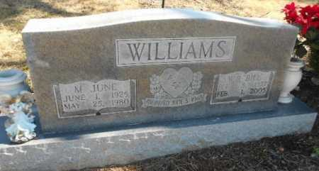 WILLIAMS, MYRTLE JUNE - Fulton County, Arkansas | MYRTLE JUNE WILLIAMS - Arkansas Gravestone Photos