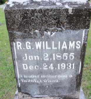 WILLIAMS, R G - Fulton County, Arkansas | R G WILLIAMS - Arkansas Gravestone Photos