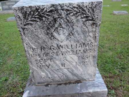 WILLIAMS, R G (DOCTOR) - Fulton County, Arkansas | R G (DOCTOR) WILLIAMS - Arkansas Gravestone Photos