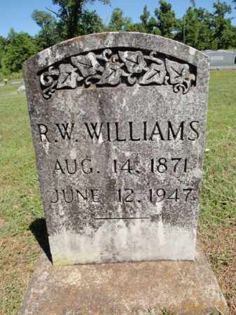 WILLIAMS, R W - Fulton County, Arkansas | R W WILLIAMS - Arkansas Gravestone Photos