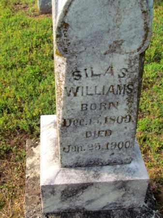 WILLIAMS, SILAS (CLOSE UP) - Fulton County, Arkansas   SILAS (CLOSE UP) WILLIAMS - Arkansas Gravestone Photos