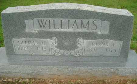 WILLIAMS, TILLMAN C - Fulton County, Arkansas | TILLMAN C WILLIAMS - Arkansas Gravestone Photos