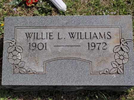 WILLIAMS, WILLIE L - Fulton County, Arkansas | WILLIE L WILLIAMS - Arkansas Gravestone Photos