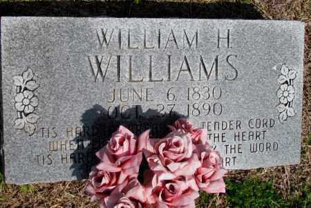 WILLIAMS, WILLIAM H - Fulton County, Arkansas | WILLIAM H WILLIAMS - Arkansas Gravestone Photos