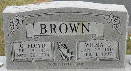 BROWN, WILMA C. - Garland County, Arkansas | WILMA C. BROWN - Arkansas Gravestone Photos