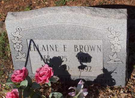 BROWN, ELLAINE - Garland County, Arkansas | ELLAINE BROWN - Arkansas Gravestone Photos