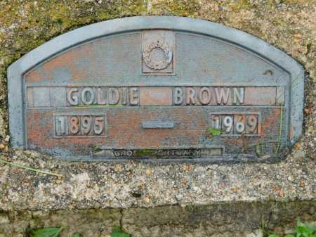 BROWN, GOLDIE - Garland County, Arkansas   GOLDIE BROWN - Arkansas Gravestone Photos
