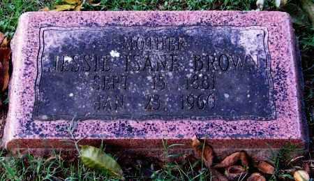 BROWN, JESSIE ISANE - Garland County, Arkansas | JESSIE ISANE BROWN - Arkansas Gravestone Photos
