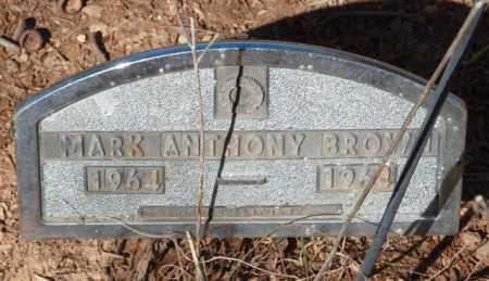 BROWN, MARK ANTHONY - Garland County, Arkansas | MARK ANTHONY BROWN - Arkansas Gravestone Photos