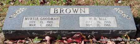 "BROWN, W. H. ""BILL"" - Garland County, Arkansas | W. H. ""BILL"" BROWN - Arkansas Gravestone Photos"
