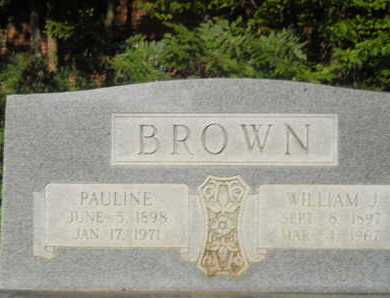BROWN, PAULINE - Garland County, Arkansas | PAULINE BROWN - Arkansas Gravestone Photos