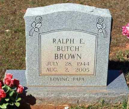 "BROWN, RALPH EDWARD ""BUTCH"" - Garland County, Arkansas | RALPH EDWARD ""BUTCH"" BROWN - Arkansas Gravestone Photos"