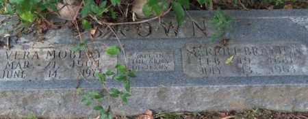 BROWN, VERA - Garland County, Arkansas   VERA BROWN - Arkansas Gravestone Photos