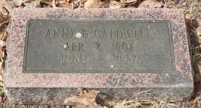 CALDWELL, ANNE B - Garland County, Arkansas | ANNE B CALDWELL - Arkansas Gravestone Photos