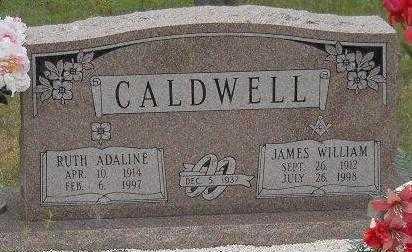 CALDWELL, JAMES WILLIAM - Garland County, Arkansas | JAMES WILLIAM CALDWELL - Arkansas Gravestone Photos