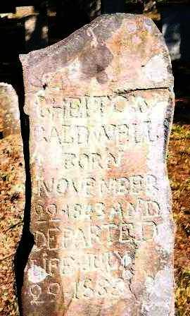 CALDWELL, CHELTON - Garland County, Arkansas | CHELTON CALDWELL - Arkansas Gravestone Photos