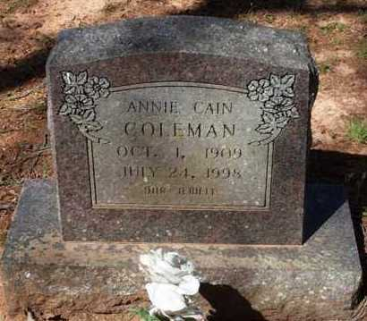 CALDWELL, ANNIE - Garland County, Arkansas | ANNIE CALDWELL - Arkansas Gravestone Photos